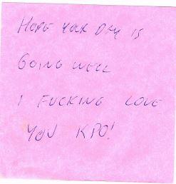 Redneck love letter 1