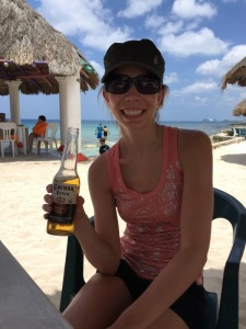 Corona at Playa Corona. We are lazy and didn't go - but I hear there is good snorkeling at this beach.